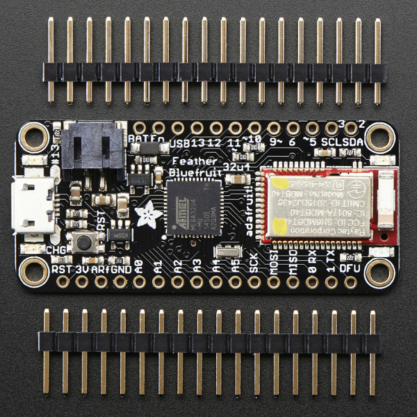 Adafruit Feather 32U4 Bluefruit LE - Ардуино с BLE модул /Bluetooth 4/