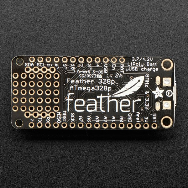 Adafruit Feather 328P 3,3V 8MHz - ATmega328P, CP2104, Arduino съвместима платка