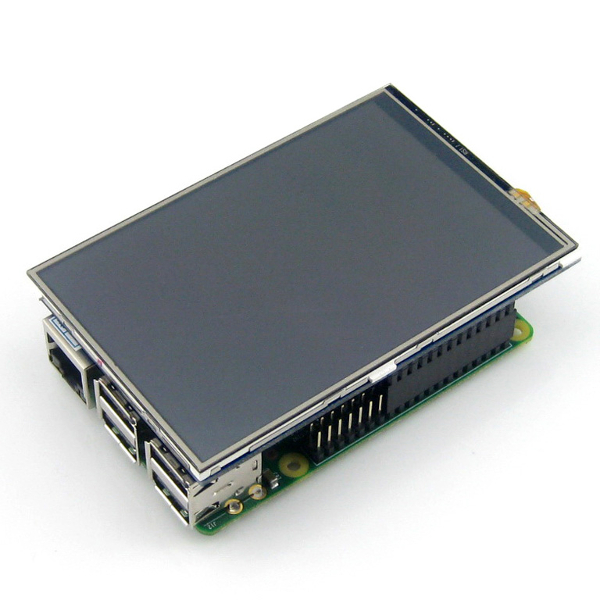 "4"" IPS Touch дисплей за Raspberry Pi, WaveShare"
