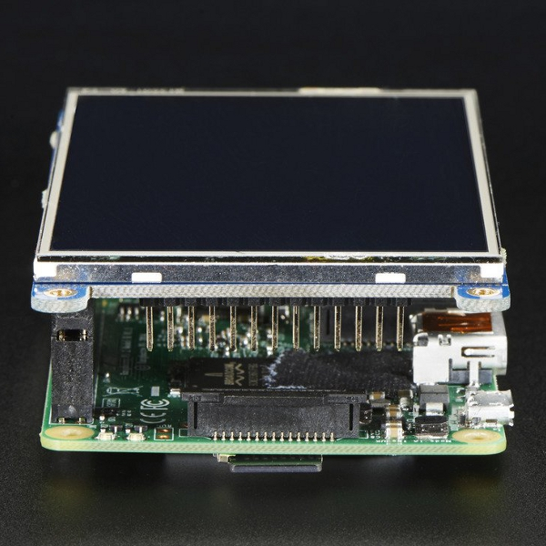 3,5'' TFT Touch дисплей за Raspberry Pi - PiTFT Plus, Adafruit