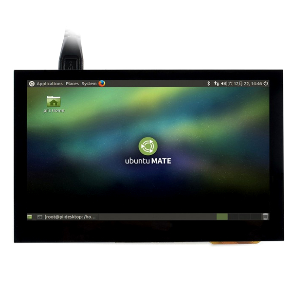 "Дисплей 4,3"", 800x480, IPS, HDMI, капацитивен USB Touch screen"