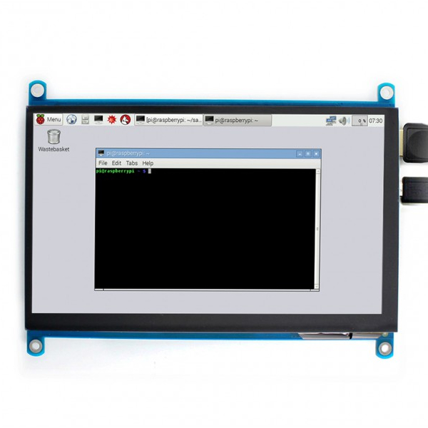 "Дисплей 7"", 1024x600, IPS, HDMI, капацитивен USB Touch screen"