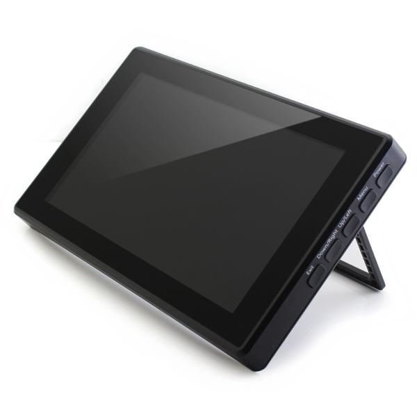 "Дисплей 7"", 1024x600, IPS, HDMI, капацитивен USB Touch screen, поставка"