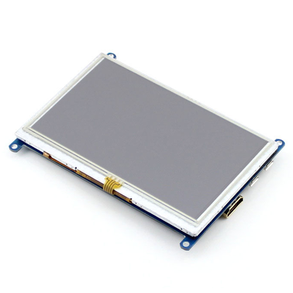"Дисплей 5"", 800x480, HDMI, Touch screen - резистивен USB"