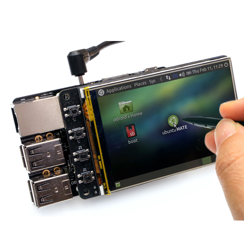 3.5inch Touchscreen for Odroid C2 - Разпродажба!