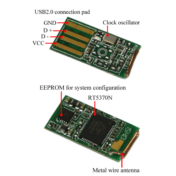 USB Wi-Fi адаптер ODROID - RT5370N chipset