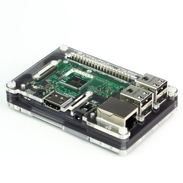 Кутия за Raspberry Pi 3 - Pimoroni Pibow Coupé Ninja