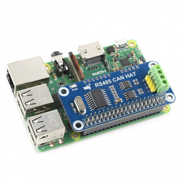 RS485 CAN HAT за Raspberry Pi