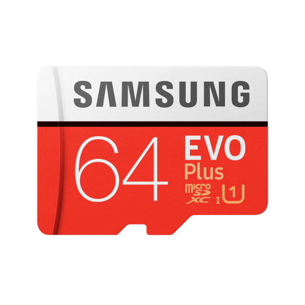 Микро SD карта 64GB UHS-I, Samsung EVO Plus