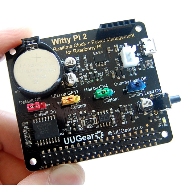 Witty Pi 2: Realtime Clock and Power Management for Raspberry Pi - Разпродажба