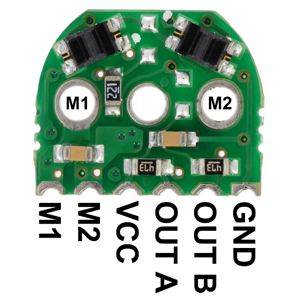 Optical Encoder Pair Kit for Micro Metal Gearmotors, 5V - Разпродажба!