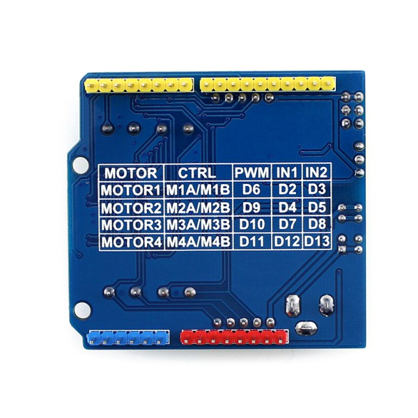 Motor Control Shield, Waveshare - Разпродажба!