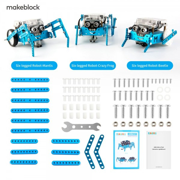 mBot Add-on Pack - Six-legged Robot - приставка за mBot v1.1