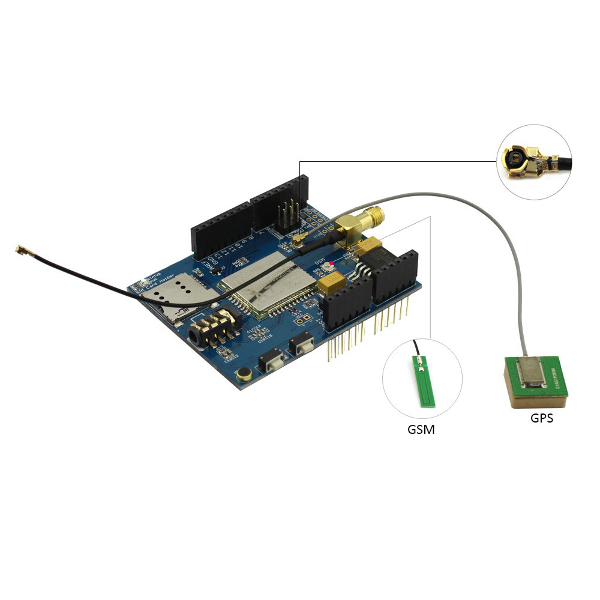 A7 GSM GPRS GPS Shield