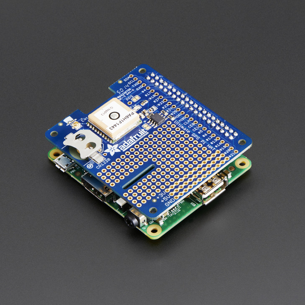 Adafruit Ultimate GPS Pi HAT за Raspberry Pi