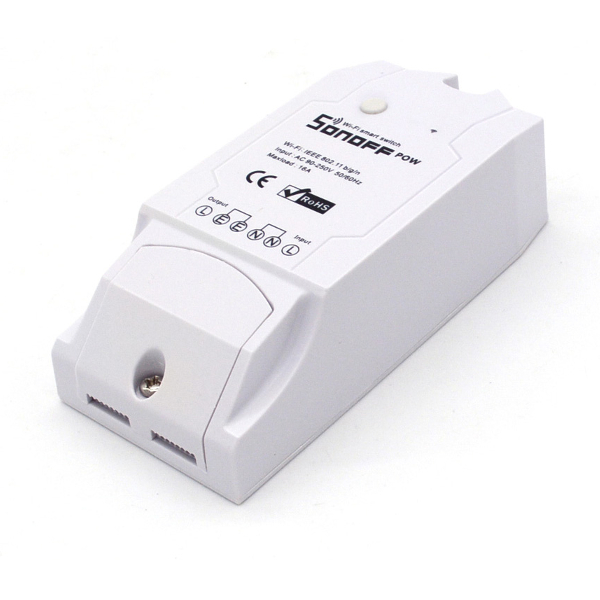 Sonoff Pow - WiFi интернет ключ 220V 16A AC с измерване на консумация /WiFi Switch With Power Consumption Measurement/